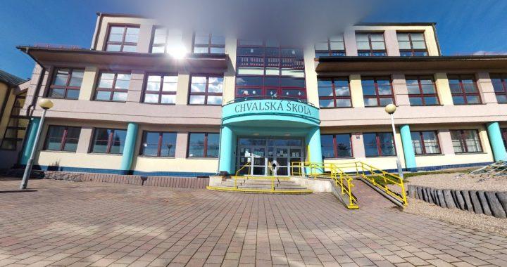 Nová budova školy - virtuální prohlídka